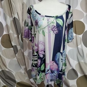 Style & Co Floral with Rhinestones Dress